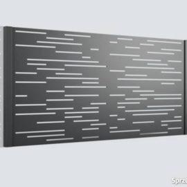 przęsło wypalane laserowo